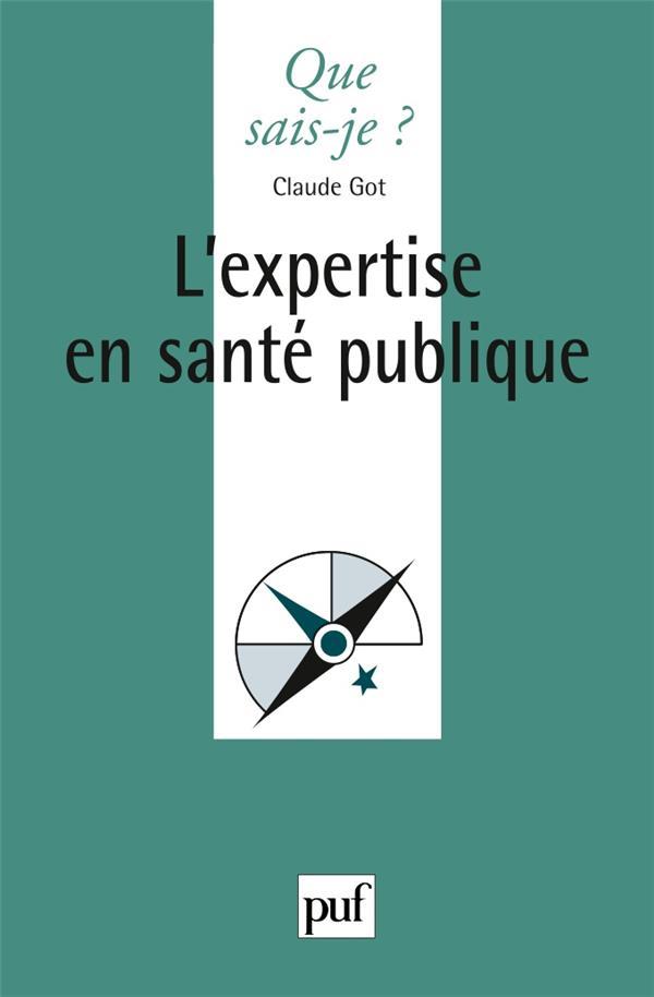 L'Expertise En Sante Publique