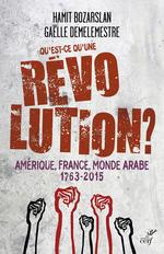 Vente EBooks : Qu'est-ce qu'une révolution ; Amérique, France, monde arabe 1763-2015  - Hamit BOZARSLAN - Gaelle Demelemestre