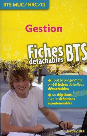 Gestion ; Bts Muc, Nrc, Ci