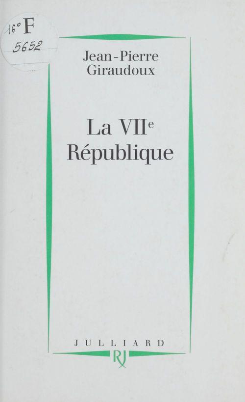 La VIIe République