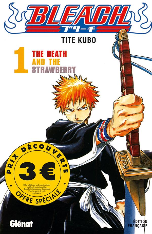 Bleach T.1 ; the death and the strawberry