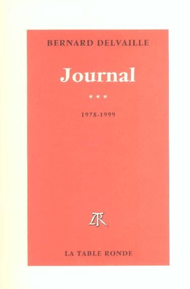 Journal (tome 3-1978-1999)