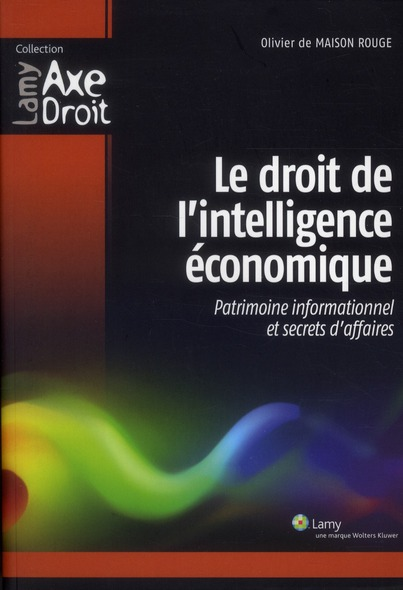 Le Droit De L'Intelligence Economique