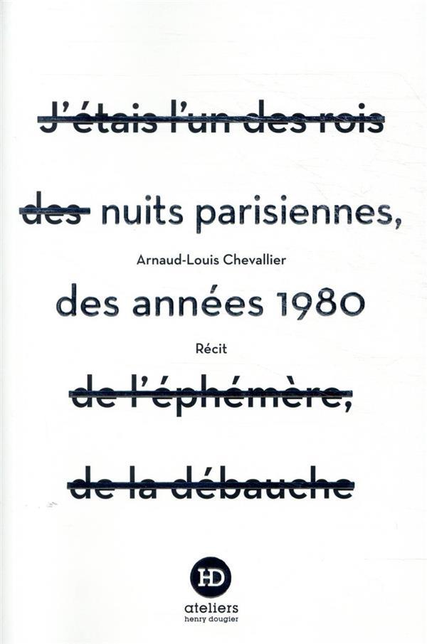 Nuits parisiennes des années 1980