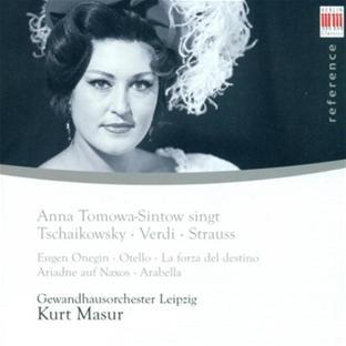 Anna Tomowa-Sintow Chante Tchaikovsky, Verdi et Strauss