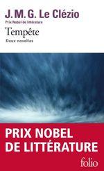 Vente EBooks : Tempête. Deux novellas  - J.M.G. Le Clézio
