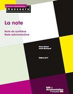 Vente Livre Numérique : La note  - Pierre Gévart - La Documentation française - Hervé Macquart