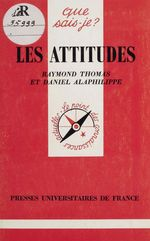 Les Attitudes  - Daniel Alaphilippe - Daniel ALAPHILIPPE - Daniel Alaphilippe - Raymond Thomas - Raymond Thomas