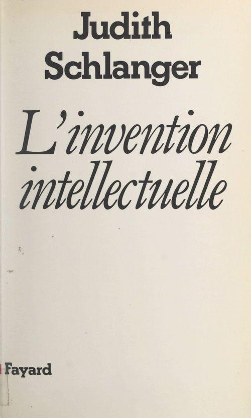 L'invention intellectuelle