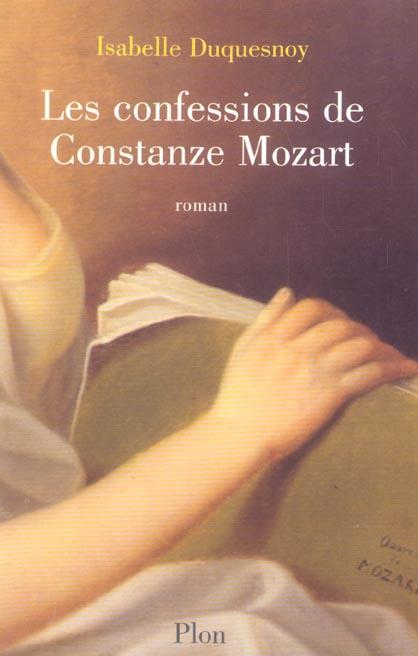 Les confessions de constanze mozart - vol01