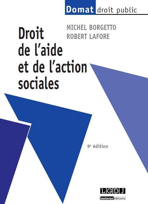Droit de l'aide et de l'action sociales (9e édition)