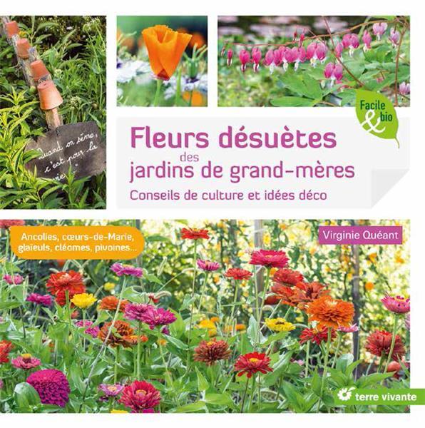Fleurs désuètes des jardins de grand-mères ; conseils de culture et idées déco