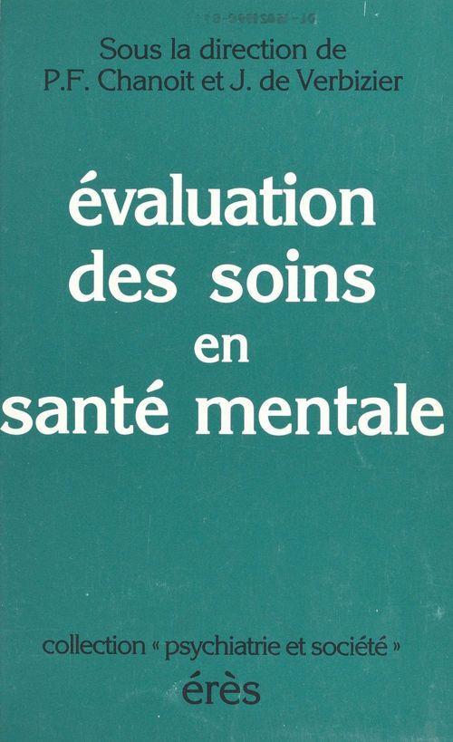Évaluation des soins en santé mentale
