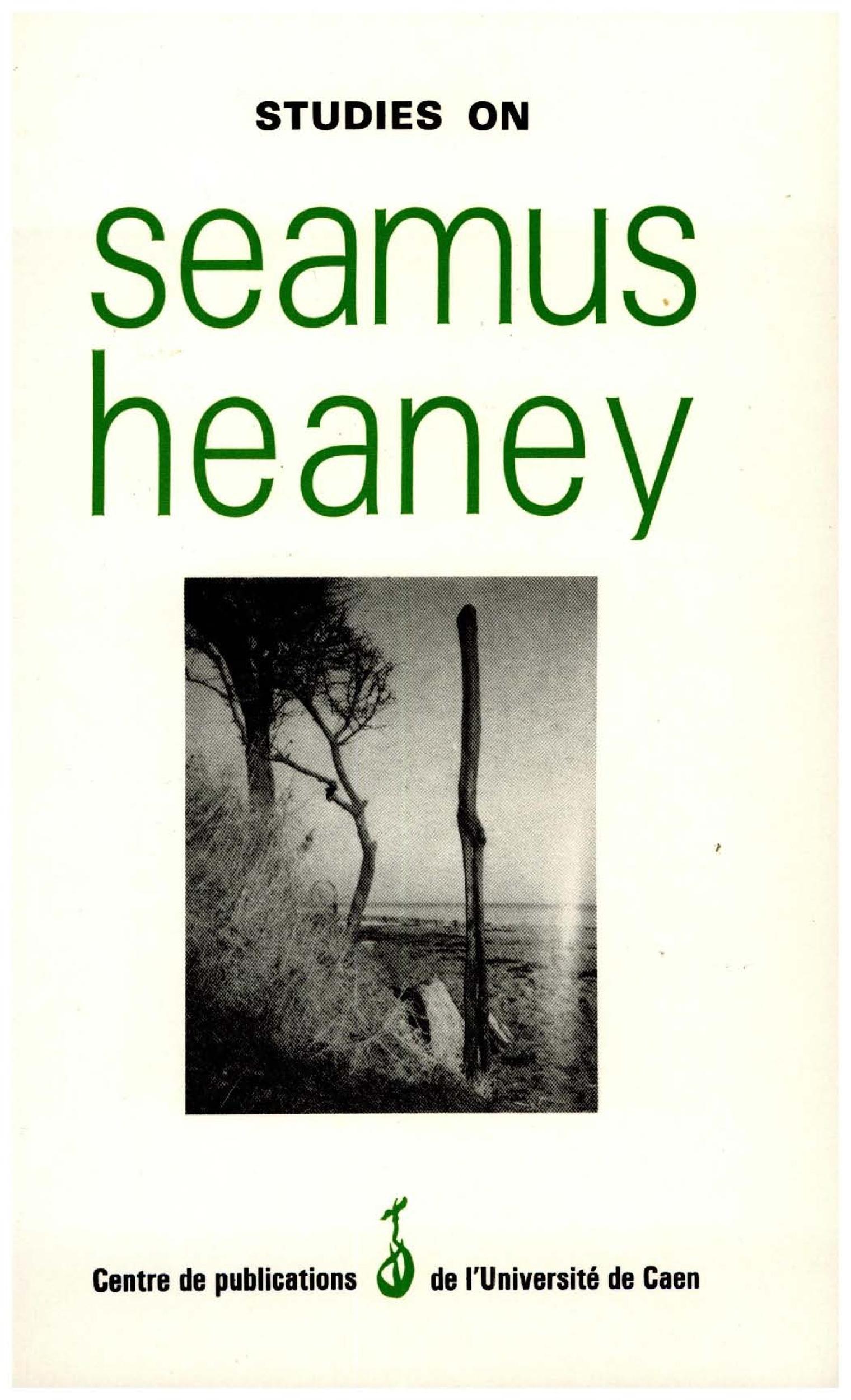 Studies on Seamus Heaney