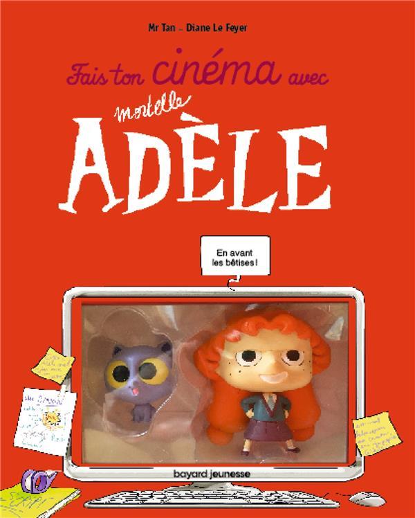 Fais ton cinéma avec Mortelle Adèle ; figurines