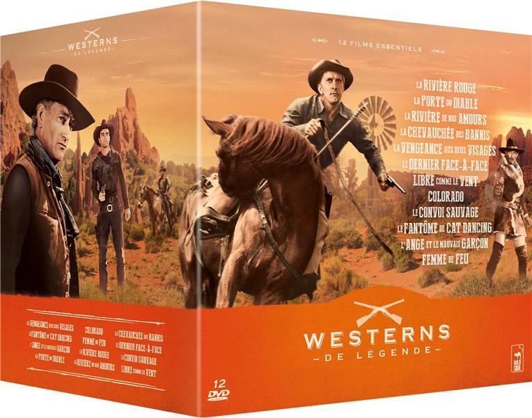 Westerns de légende 2 - 13 DVD