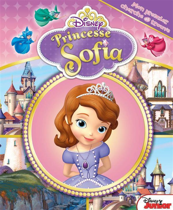 Mon premier cherche et trouve ; Princesse Sofia