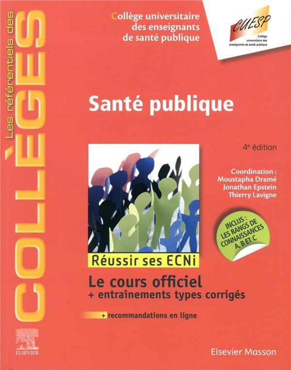 Santé publique ; réussir ses ECNi (4e édition)