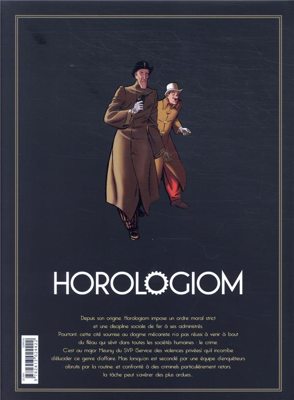 Horologiom ; Intégrale vol.2 ; t.6 et t.7