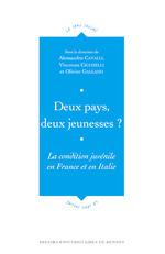 Vente Livre Numérique : Deux pays, deux jeunesses?  - Olivier Galland - Vincenzo Cicchelli - Alessandro Cavalli