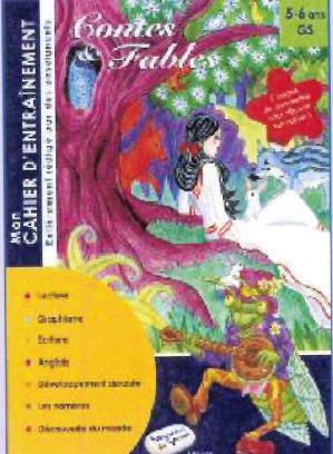 Contes et fables ; mon cahier d'entraînement
