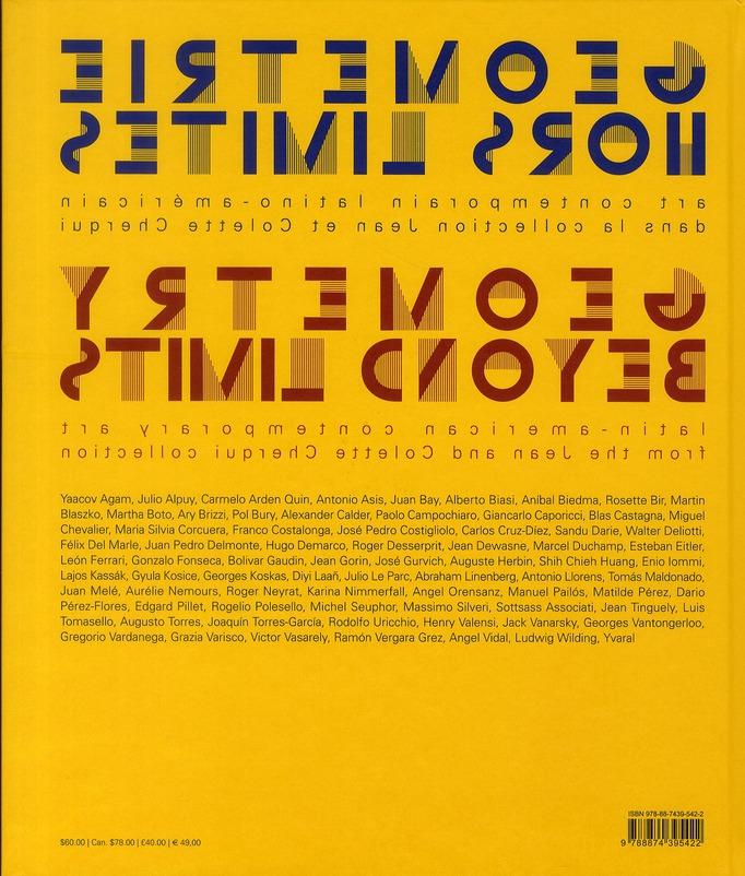 Géométrie hors limite ; art contemporain latino-américain / geometry beyond limits ; latin-american contemporary art