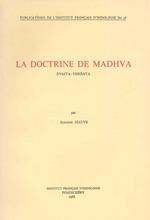 La doctrine de Madhva  - Suzanne Siauve
