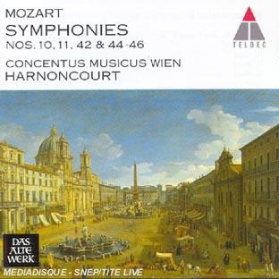 Symphonies N 10, 11, 42, 44, 45 & 46