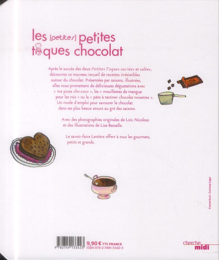 Les petites petites toques au chocolat