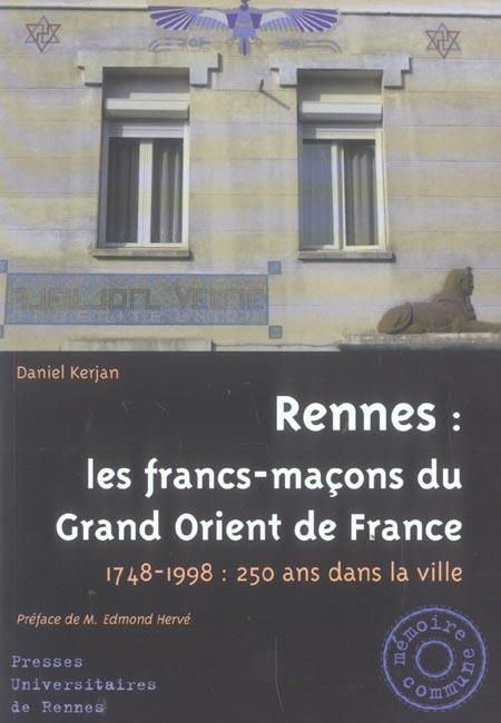 Rennes : les francs-macons du grand orient de france