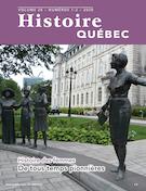 Histoire Québec. Vol. 26 No. 1-2,  2020