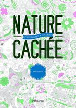 Couverture de Nature Cachee - Poster Geant A Colorier