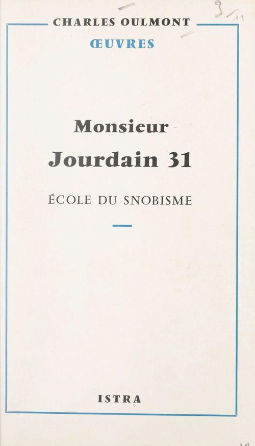 Monsieur Jourdain 31
