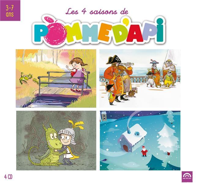 LES 4 SAISONS DE POMME D'API - COFFRET 4 CD