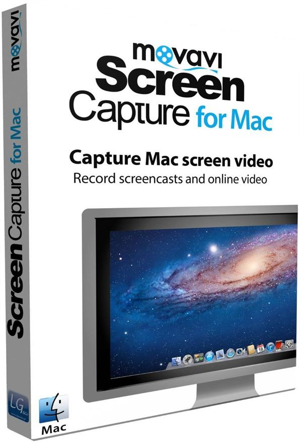 Movavi screen capture for Mac