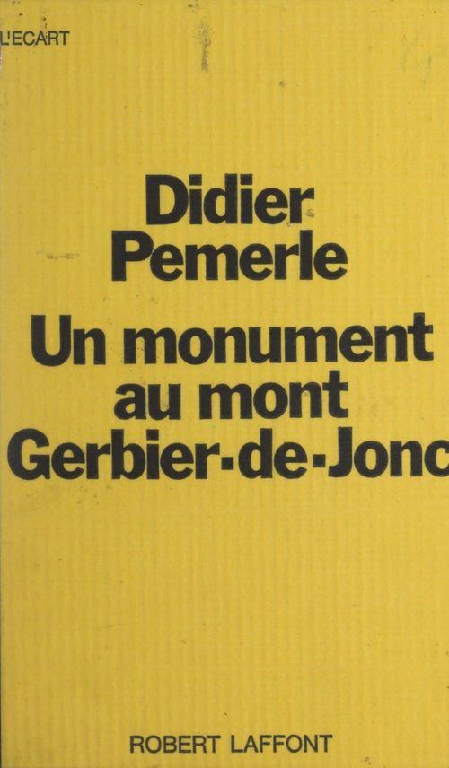 Un monument au mont Gerbier-de-Jonc