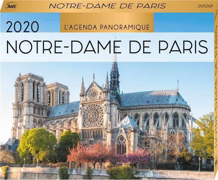 AGENDA PANORAMIQUE  -  NOTRE-DAME DE PARIS (EDITION 2020)