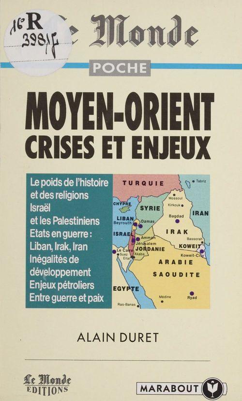 Moyen orient monde crises