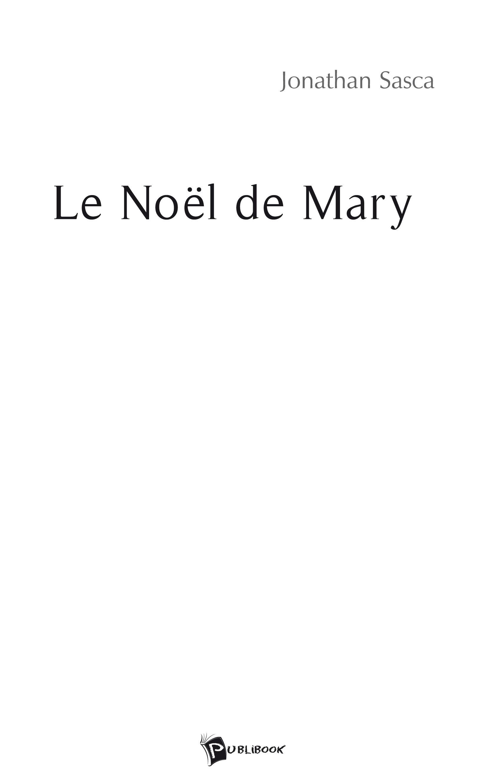 Le Noël de Mary