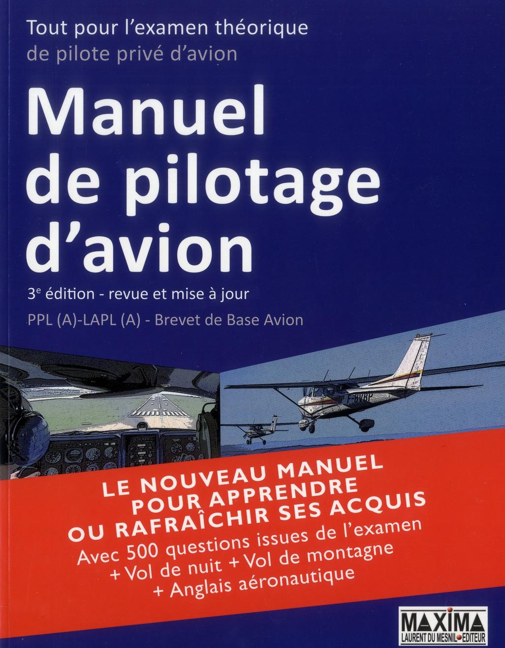 Manuel De Pilotage D'Avion (3e Edition)