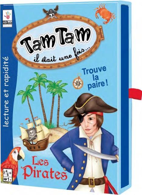 Tam Tam il était une fois... ; les pirates