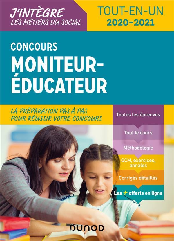 CONCOURS MONITEUR EDUCATEUR  -  TOUT-EN-UN (EDITION 20202021) LE DU, VALERIE