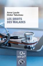 Vente Livre Numérique : Les droits des malades  - Laude Anne - Didier TABUTEAU
