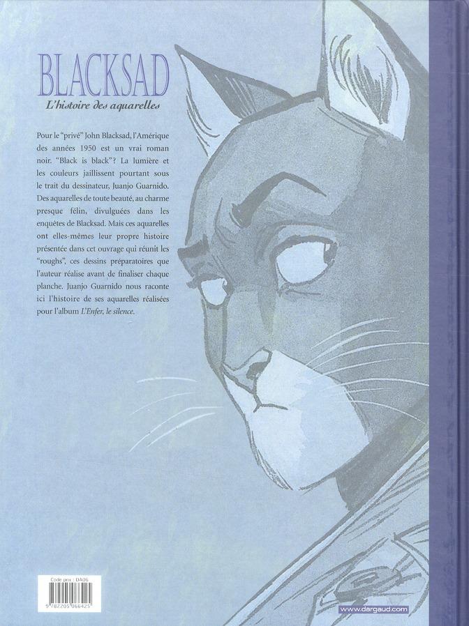 Blacksad HORS-SERIE T.2 ; l'histoire des aquarelles t.2