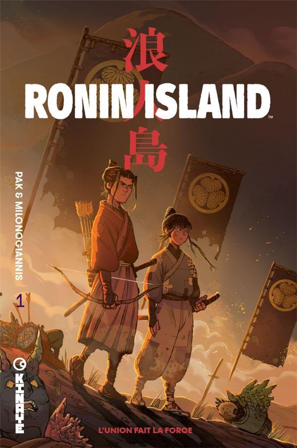 Ronin island t.1 ; l'union fait la force
