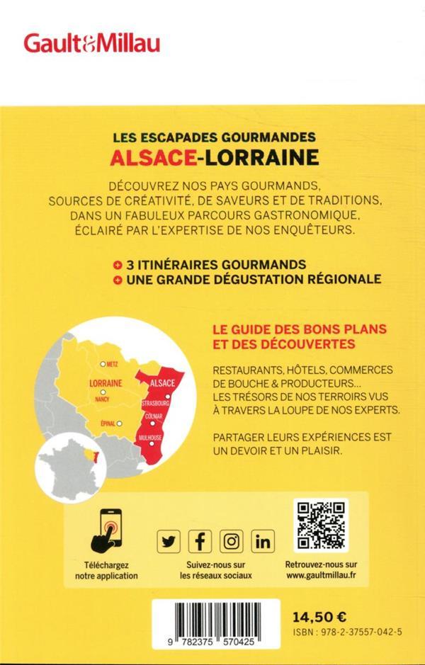 Les escapades gourmandes Alsace-Lorraine (édition 2021)