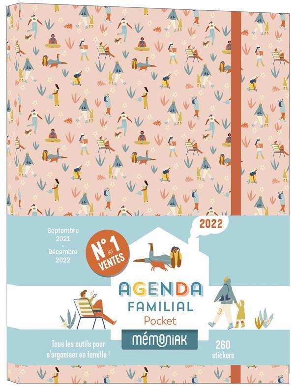 Mémoniak ; agenda familial pocket (édition 2021/2022)