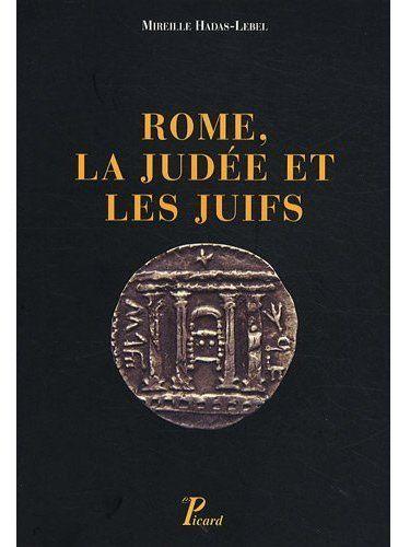 Rome, la Judée et les juifs