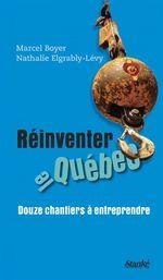 Vente Livre Numérique : Réinventer le Québec  - Boyer Marcel - Nathalie Elgrably-Lévy
