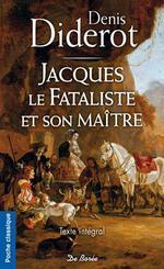 Couverture de Jacques le fataliste et son maître